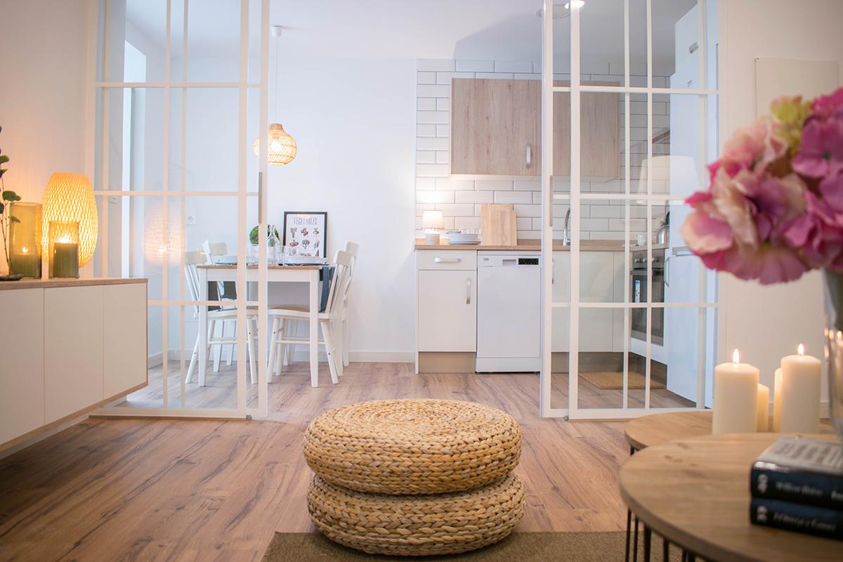 Salón - Cocina - Home Decora